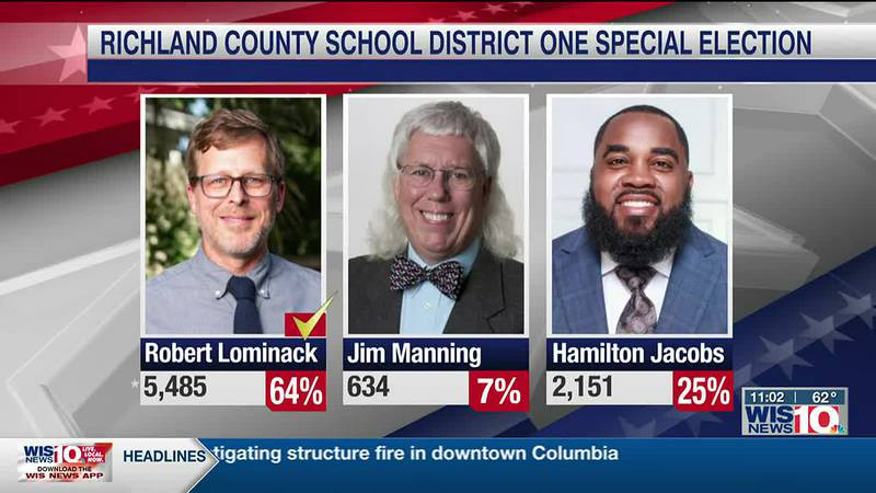 Richland Co. announces projected winner of special election
