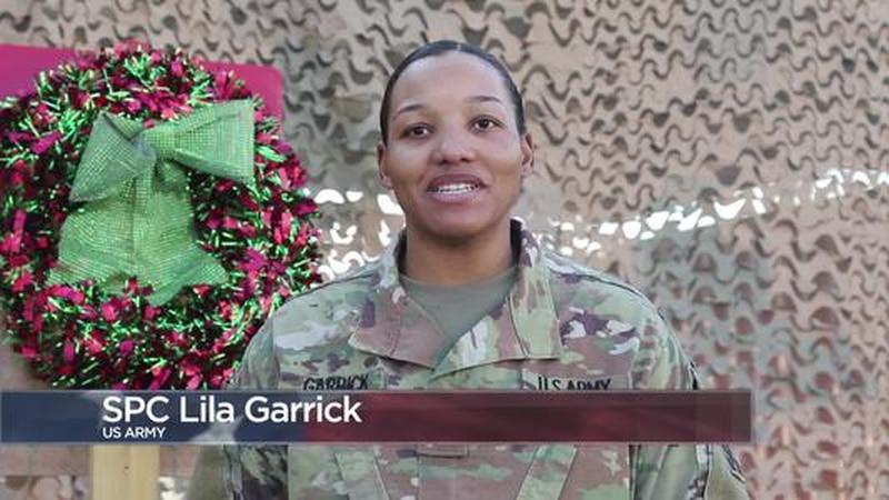 Military Greetings: Spc. Lila Garrick