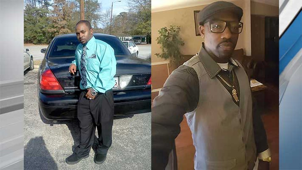 A jury convicted Ritter of killing 26-year-old Samir Atkins (left) and 41-year-old Elzie Mack...