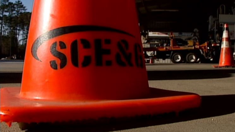 More than 1,700 were reported without power Wednesday morning. (Source: WIS)